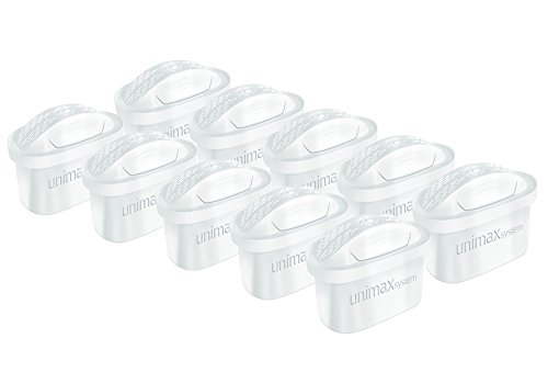 Pack 10 Filterkartuschen kompatibel mit Brita Maxtra® (außer Maxtra+)