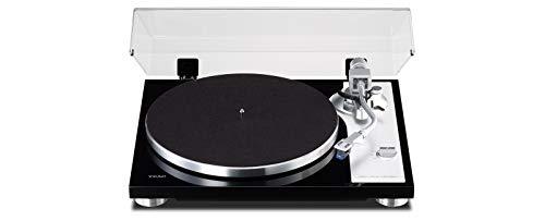 Teac TN-4D analoge platenspeler met directe aandrijving (USB-poort voor pc-opnamen en geïntegreerde PHONO EQ versterker), zwart