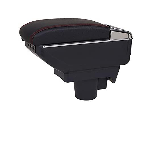 Caja Apoyabrazos Coche para Opel Astra H Car Center Console Reposabrazos USB Caja De Almacenamiento con Portavasos Cenicero Apoyabrazos Central Automóvil