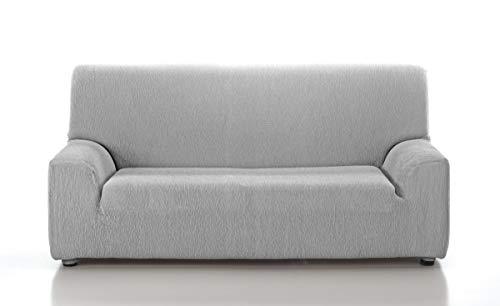 TEXTILONLINE Funda de Sofa Elastica Araj (Duo (2 Plazas + 3 Plazas), Gris Claro)