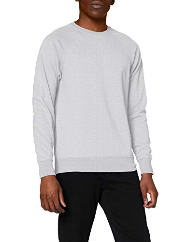 Fruit of the Loom Ss063m Sudadera, Gris (Heather Grey), Large para Hombre