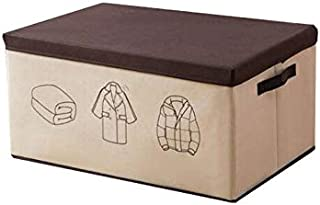 Lpiotyucwh Paniers et Boîtes De Rangement, 1pcs de grande capacité vêtements de rangement de vêtements organisateur, boîte...