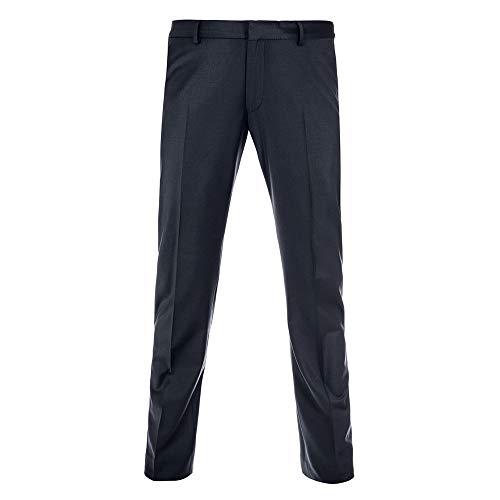 Benvenuto Purple - Slim Fit - Herren Baukasten Anzug Hose für Jungen Trend-Anzug mit sehr schlankem Schnitt in den Farben Blau und Asphalt, Vito (20751, Modell: 62604)