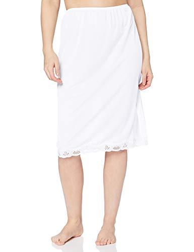 Marlon Damen Megan Unterrock, Weiß (Weiß Weiß), 48/50 (Herstellergröße: 20/22 )