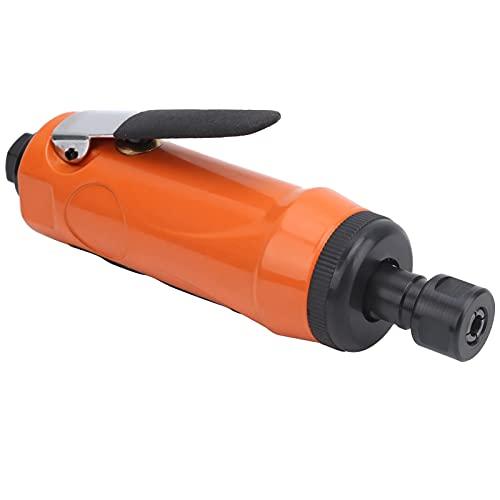 Amoladora de matriz de aire, Mini amoladora de matriz recta de aire KP-621H Máquina de pulir manual Amoladora neumática para pulir para recortar(American)