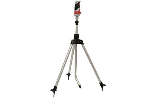 COFAN 90014017Rasensprenger 4Positionen mit Teleskop Stativ, 66,5x 12x 13.5cm, mehrfarbig