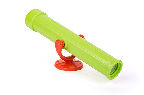 Small Foot 10882 Fernglas stabilem Material, als Entdeckerspielzeug oder für das Klettergerüst verwendbar, inkl. Befestigungsmaterial, geeignet für Kinder ab 3 Jahren