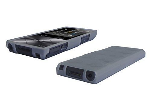 Sony Walkman NW-A20 MP3 Player TPU Cover - Slim Fit, Anti-Slip Protective TPU Rubber Gel Cover for Sony Walkman NW-A25 / NW-A26 / NW-A27 MP3 Player Case - Smoke