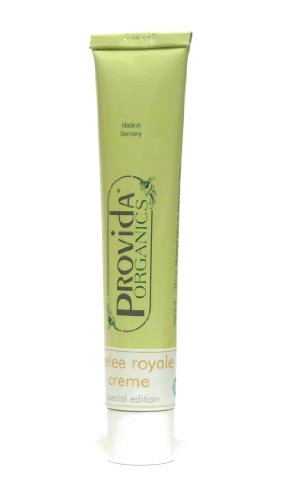 Naturkosmetik ohne Konservierungsstoffe: Gelee Royal Gesichtscreme - bei regenerationsbedürftiger Haut, 50 ml Tube