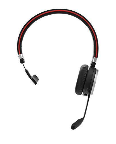 Jabra Evolve 65 Mono UC Wireless-Bluetooth-Headset für PC/Smartphone/Tablet, telefonieren & Musik hören, für Unify Communications optimiert