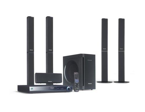 Panasonic SC BT 205 Heimkinosystem (Blu-ray Player, HDMI, DivX-zertifiziert, SD-Kartenslot, Apple iPodanschluss, USB 2.0) schwarz
