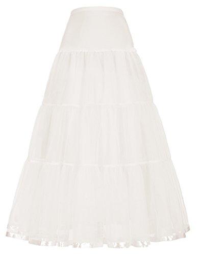 GRACE KARIN Donna Sottogonna Crinolina Sottoveste per Vestito Abito da Sposa Adatto per Taglia CL421-3 XL