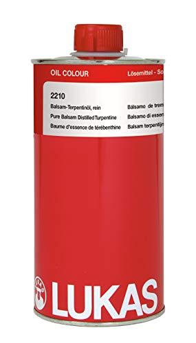 LUKAS Malmittel für die Ölmalerei - Balsam-Terpentinöl rein in 1 l