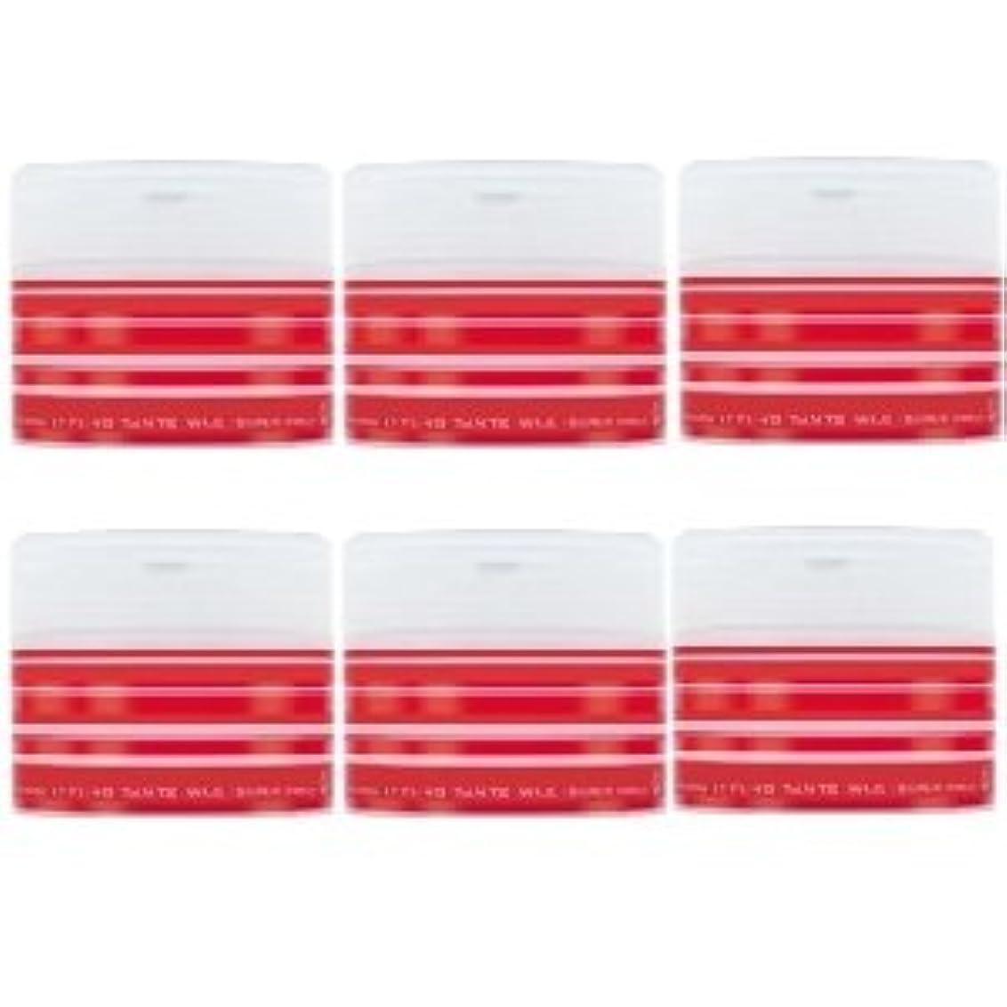 歌う調和のとれた安心させるナカノ スタイリング タントN ワックス 5 スーパーハード 90g × 6個セット