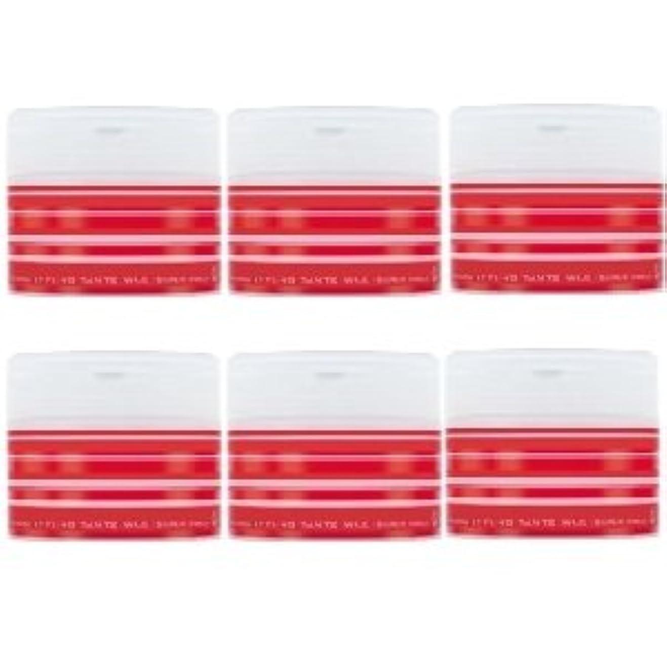 休眠舗装キリマンジャロナカノ スタイリング タントN ワックス 5 スーパーハード 90g × 6個セット