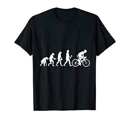 Evolution Fahrrad T-Shirt