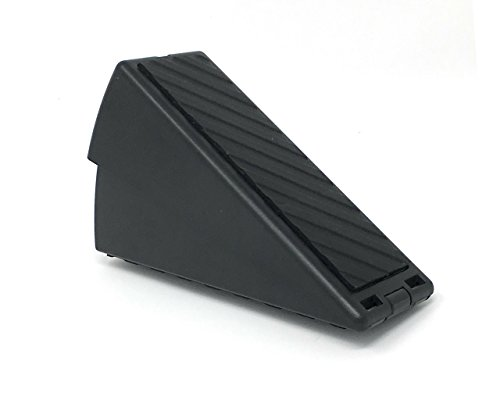 Heavy Duty Adjustable Spring Loaded Residential Door Wedge- This Self-Adjusting Doorstop Will Prop Open Virtually Any Door in Your Home | Fits Door Gaps ½-3"