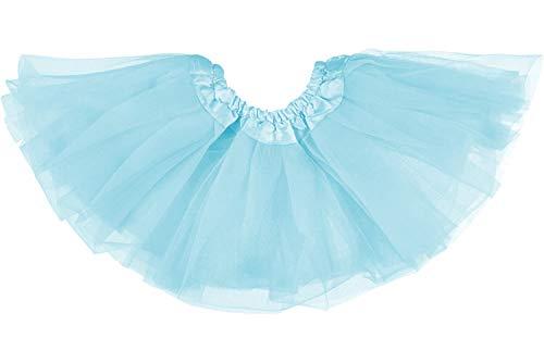 Dancina Falda Tutú Clásica de Ballet para Bebés 0-5 Meses Azul Cielo