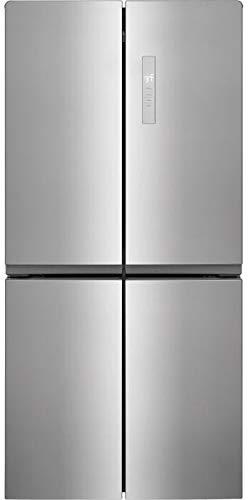 """FFBN1721TV 33"""" 4 Door French Door Refrigerator with 17.4 cu. ft. Total Capacity, Adjustable Glass Shelves, in Stainless Steel"""