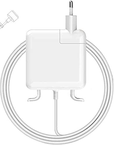 Zasunky Chargeur Mac Book Pro 60W Compatible avec Mac Pro 11'' 13'' 15'' Pouces 2012 2013 2014 2015, Chargeur T-tip 2 pour Mac Pro Retina A1425, A1502, A1424 A1290,A1343,A1226 et Plus Modèles Mac