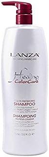 シャンプーを保存ランツァ癒し色(千ミリリットル) x4 - Lanza Healing Colorcare Colour Preserving Shampoo (1000ml) (Pack of 4) [並行輸入品]