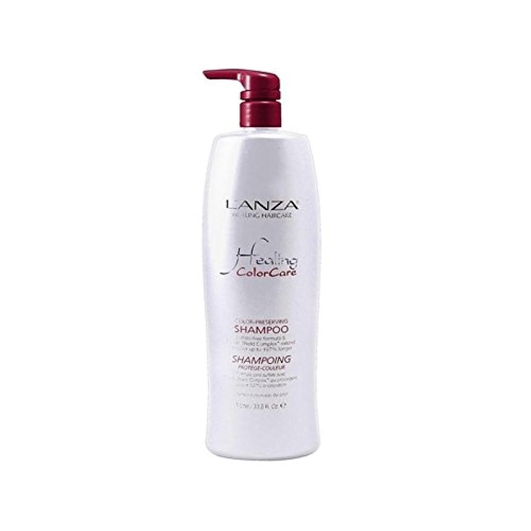Lanza Healing Colorcare Colour Preserving Shampoo (1000ml) (Pack of 6) - シャンプーを保存ランツァ癒し色(千ミリリットル) x6 [並行輸入品]