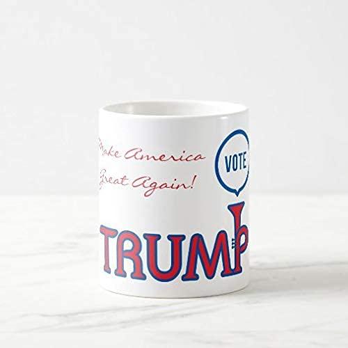 N\A Kaffeetasse 11 oz, Abstimmung Trump Trompete Kaffeetasse