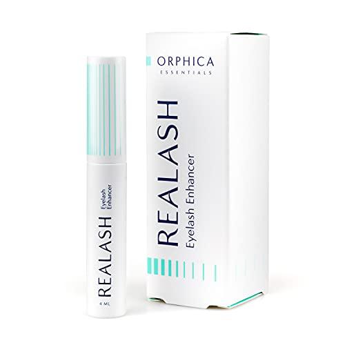 Realash ORPHICA Wimpern-Conditioner 4 ml, Conditioner, Serum für Wimpernstärkung, Wimpernverdichtung und Wimpernverlängerung, Wimpernpflege-Produkt, Präparat zum Stimulieren des Wimpernwachstums