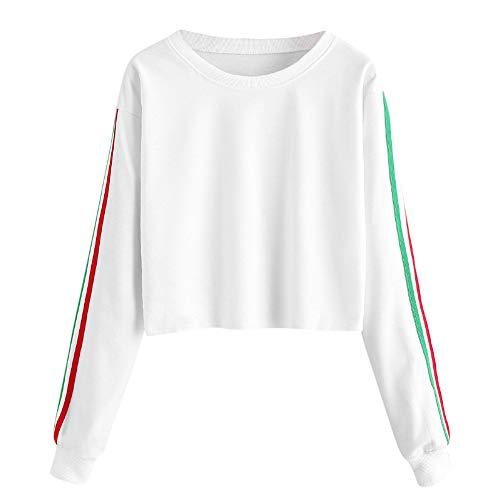 Zolimx Donna Tumblr Felpa Autunno Manica Lunga Felpa con Cappuccio Pullover Tops Camicetta, 11 Stile per Scegliere