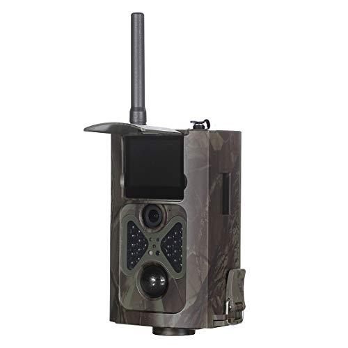 Wdckxy Trail caméra de Chasse Chemin caméra HC-550G 2.0 Pouces LCD 16MP étanche 3G MMS Infrarouge Night Vision de sécurité, 120 degrés Grand Angle