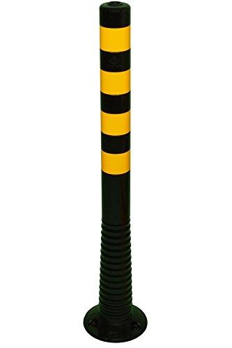 Temka 12221 SG Flexipfosten, Schwarz/gelb