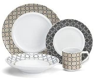 Cuisinart Dinnerware CDP01-S4C 16 Piece Porcelain Dinnerware Set - Chalais Collection