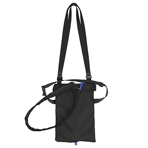 Urin Drainage Tasche Abdeckung mit abnehmbarem Schlauch wickeln, Foley-Katheter Bauch Drain verbergen Halter mit Inspektionsfenster 9x13 Zoll