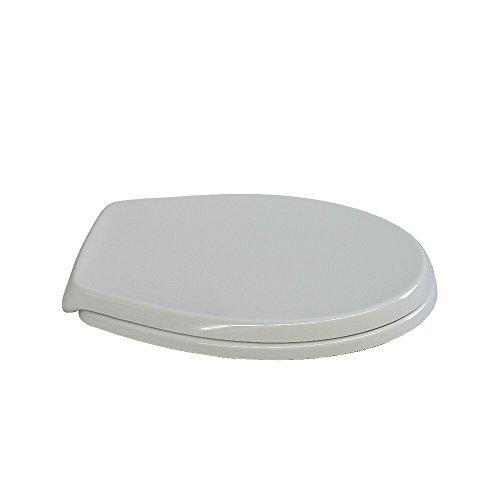 Ideal Standard WC-Sitz Eurovit mit Deckel weiss Scharniere Kunststoff, Softclosing, W303001