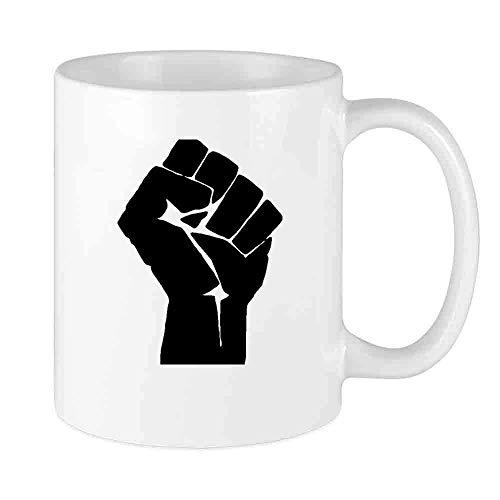 Taza de café divertida Saludo solidario Taza personalizada Regalo de vacaciones de novedad de cerámica única para hombres y mujeres que aman las tazas de té y la taza de café 12 oz