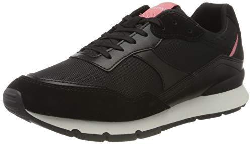 ESPRIT Damen Blanchet LU Sneaker, Silber (Black 001), 39 EU