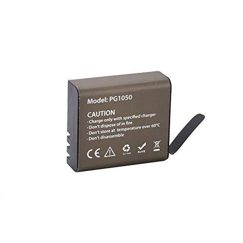 Greatangle-UK Batería de Litio para cámara Deportiva 1050mAh Batería Recargable de Iones de Litio 3.7V
