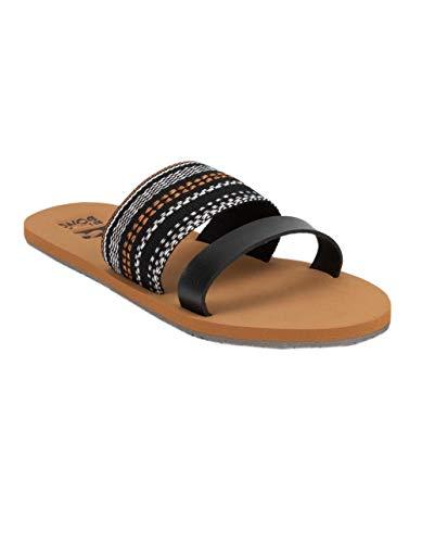 Billabong Women's Slide Away Sandal Black 9/40