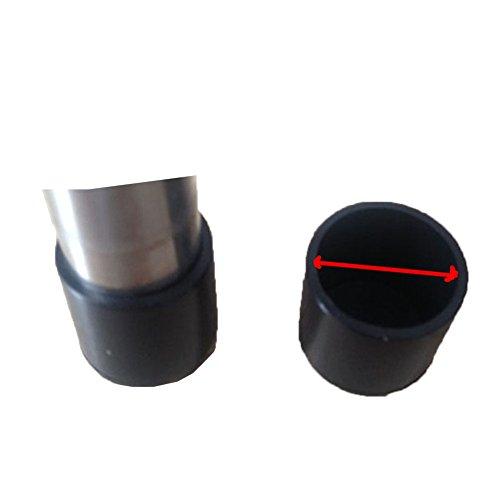 Ohmais 4pcs Silicone Chaise Casquettes Pieds tampons mobilier Table Couvre Plancher protège-Jambes pour Cercle Diamètre 32mm