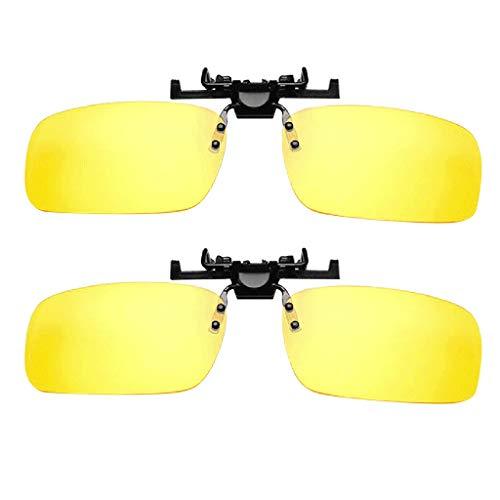 RISTHY Clip en Gafas,Gafas de Sol y Safas de Visión Nocturna Polarizadas...