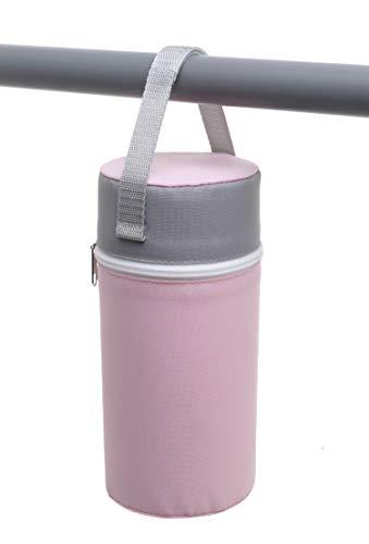 Rotho Babydesign Sac Isotherme Biberon avec Revêtement en Tissu, Pour bouteilles large, 10,5 x 10,5...
