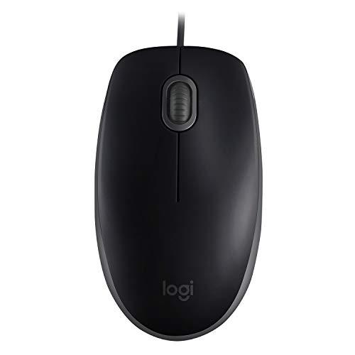 Logitech B110 Silent - Black - EMEA