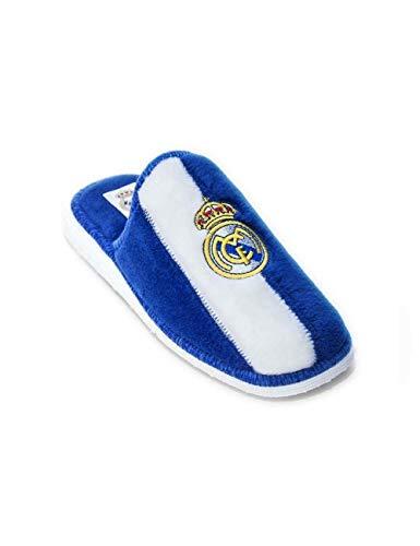 Zapatillas de Estar por casa con Licencia Oficial de Equipos de Futbol Real Madrid CF -...