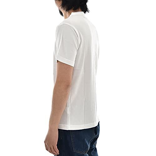 『[チャンピオン] Tシャツ 半袖 綿100% 定番 ワンポイントロゴ刺繍 ショートスリーブTシャツ C3-P300 メンズ ホワイト M』の5枚目の画像