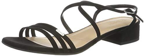Esprit Damen 031EK1W332 Sandale, 001/BLACK, 37 EU
