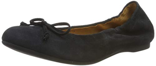 Gabor Shoes Damen Casual Geschlossene Ballerinas, Blau (Pazifik 16), 44 EU