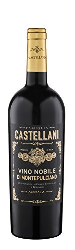 6x 0,75l - 2014er - Famiglia Castellani - Vino Nobile di Montepulciano D.O.C.G. - Toscana - Italien - Rotwein halbtrocken