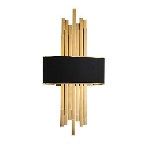 Led-wandlampen minimalistische moderne woonkamer achtergrond wandlamp luxe goud slaapkamer woonkamer Villa Hotel model verlichting muur hanglampen