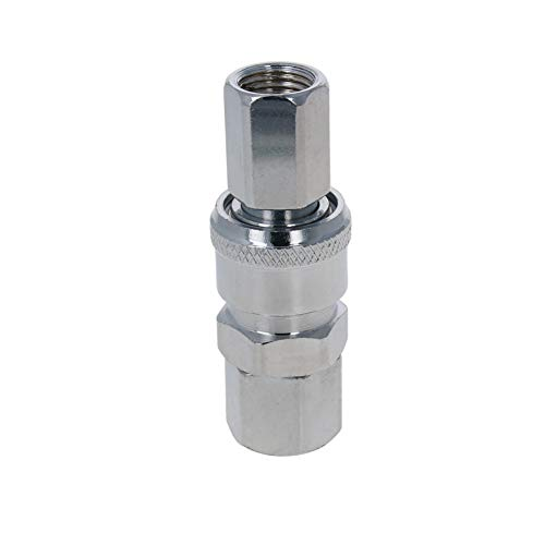 Othmro Quick Connectors Pneumatic Fittings Tube Air Fittings Male Hose Straight Fittings PC10-02 5pcs