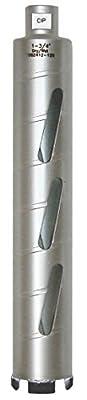 Concord Blades 1 Inch Laser Welded Dry/Wet Diamond Core Drill Bit